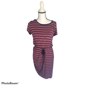 Olive & Oak stripe dress size small